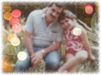 Meu pai e eu na Serra, em setembro de 1987. Essa foto está na carteira dele, desde aquela época... :)